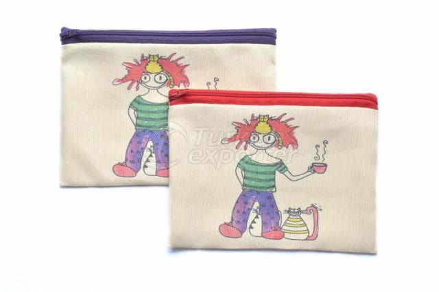 Утренняя девочка, сумка-сумка на молнии