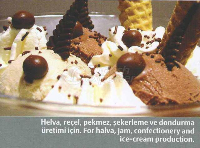 For Halva, Jam, Confectionery and Ice-Cream Production