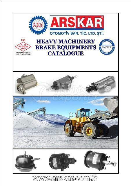 комплектующие тормозных систем для тяжелых машин