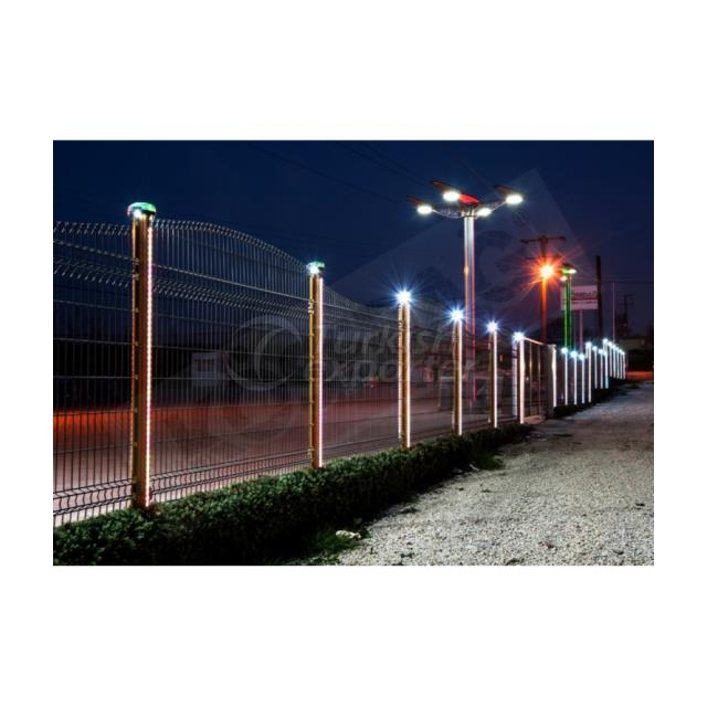 Fence System K-DAG Solar Lighting