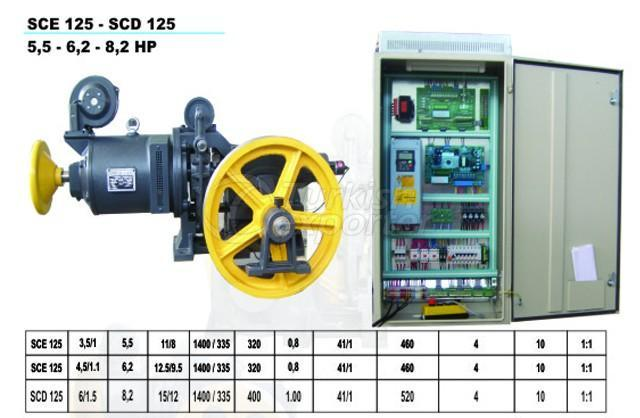 Elevator Motors Lift Machines