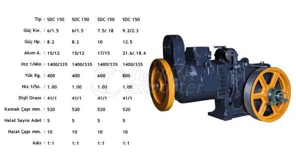 Elevator Motors SCD 150