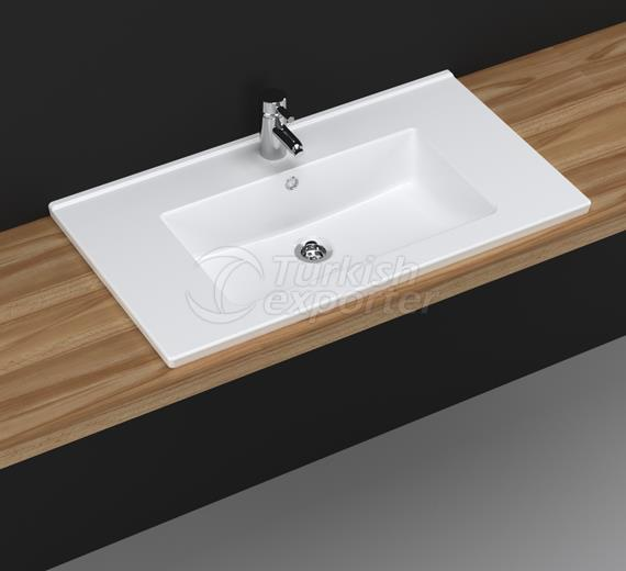 Bella 80 cm Washbasin with Shelf