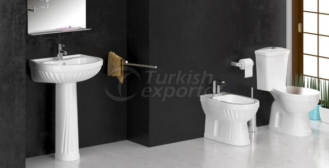 İnci Bathroom Set
