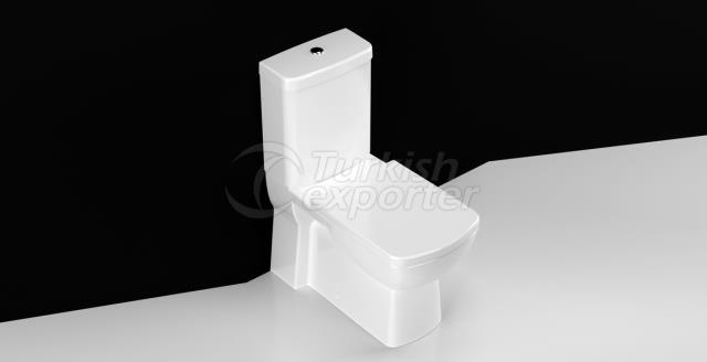 Plaza Wall Mounted Toilet