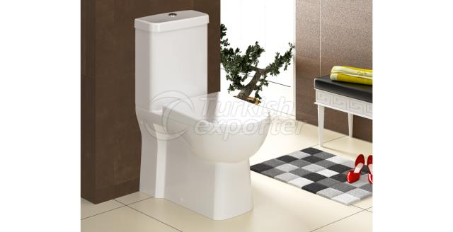 Omega Wall Mounted Toilet