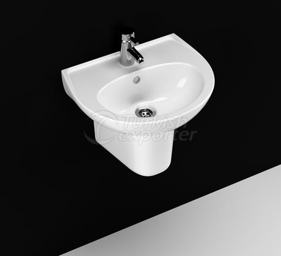 40 x 50 cm Sink- Half Leg