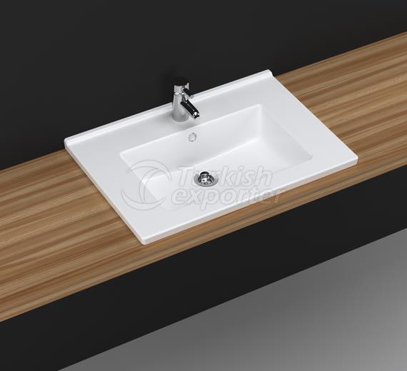 Bella 65 cm Washbasin with Shelf