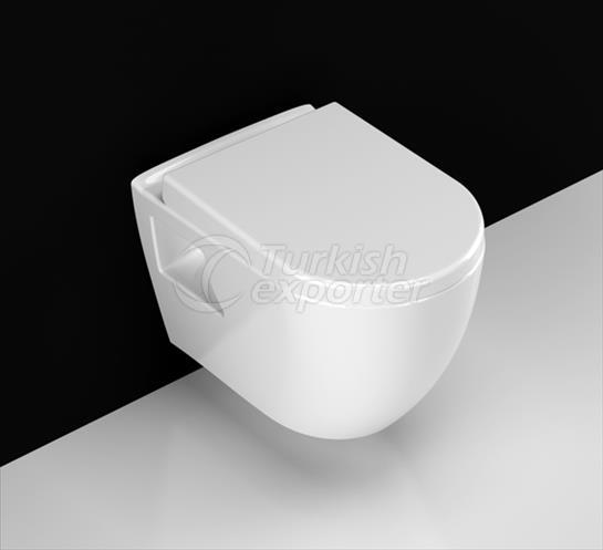 Rondo Wall-hung Toilet Bowl
