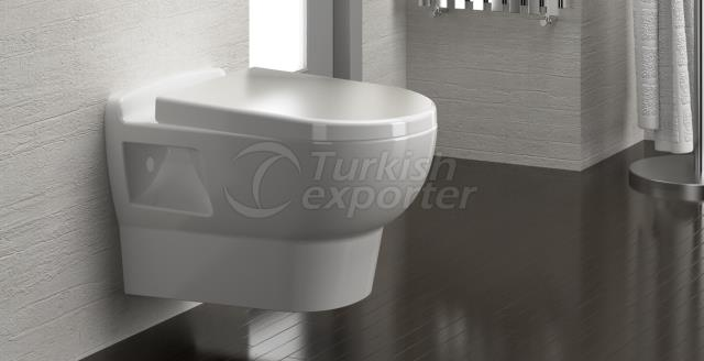 Sedef Wall-hung Toilet Bowl