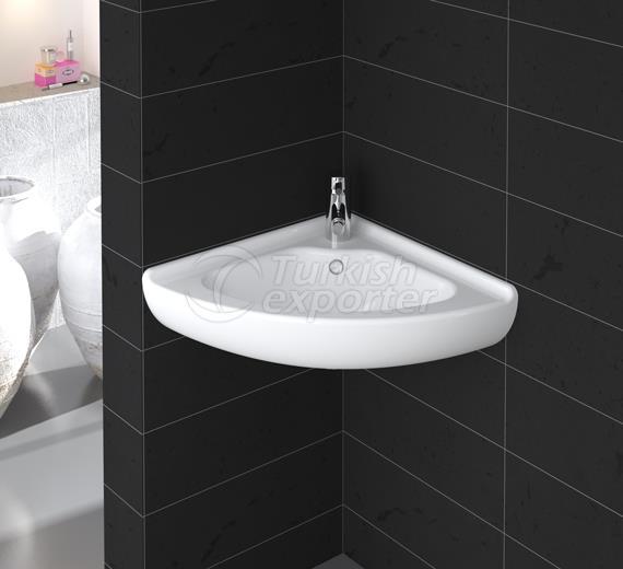 40 x 40 cm Corner Sink