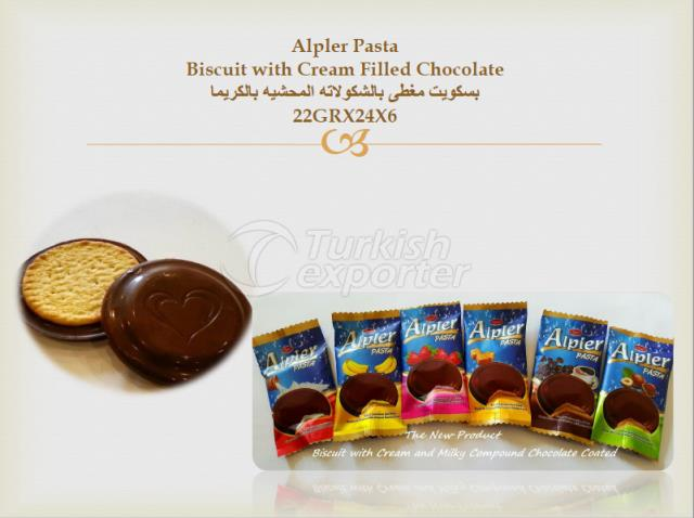 ALPLER BISCUIT WITH CHOCOLATE