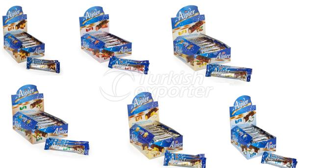 ALPLER BAR CHOCOLATE 22GRX24X6