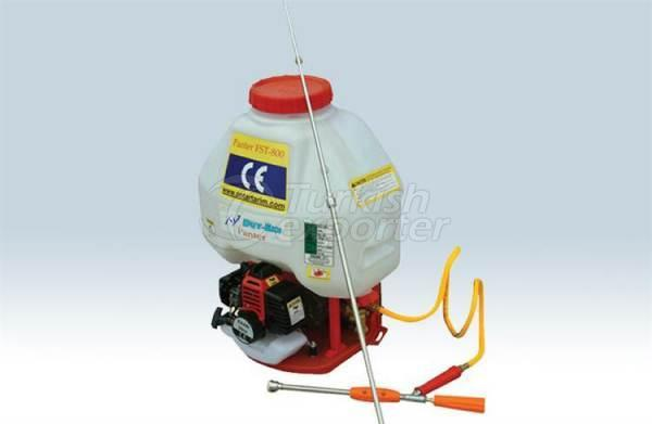 Spraying Machine with Engine