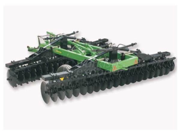 Hydraulic Lift Foldable V Type Offset Gobsle Disc-Harrow