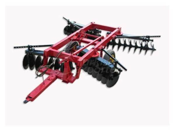 Hydraulic Lift Trailed Type Offset Goble Disc-Harrow