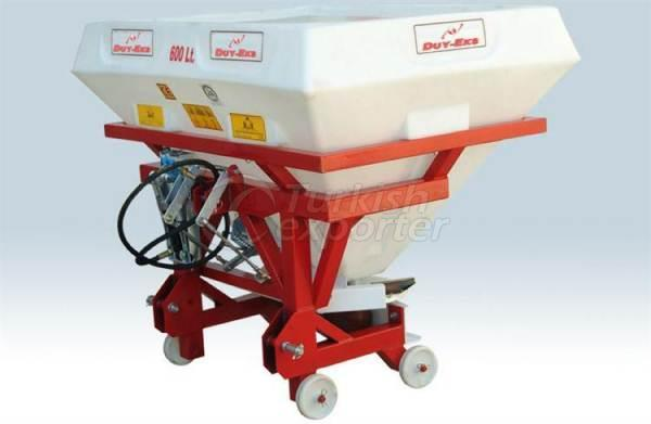 Fertilizer Machine 600 Lt Cornered Fiber