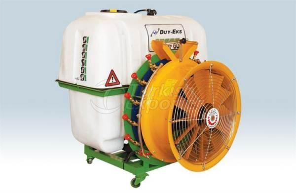 Mounted Type Turbo 600 Lt Pls A105 Vdr50 Dyed Double Fan