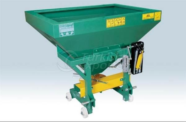 Fertilizer Machine 500 Lt Cornered Fiber