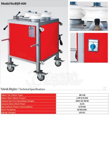 Alüminyum Oval Boru Bükme Makinesi