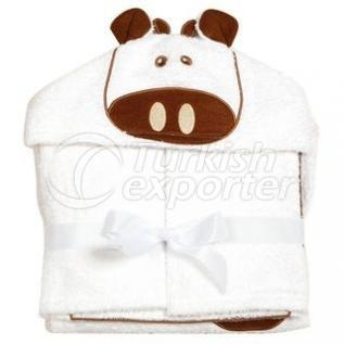 Embroidery Baby Hooded Towel - MTX 20