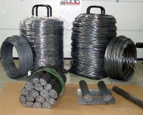Steel Coil and Wire Bar