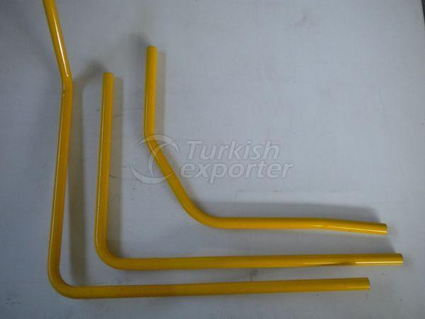 Aluminium Pipes-Supports
