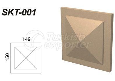 ديكورات جصية  SKT-001