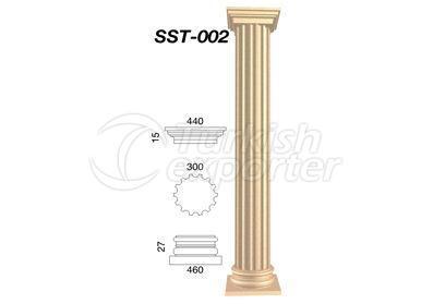 اعمدة جصية   SST-002