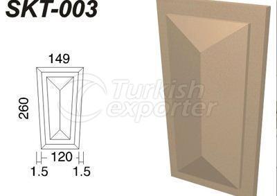 ديكورات جصية  SKT-003