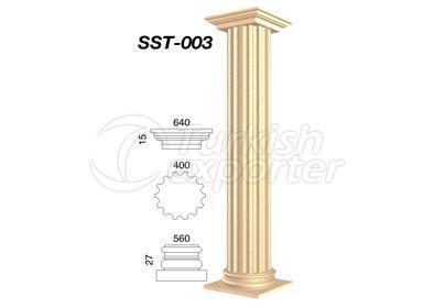 اعمدة جصية  SST-003
