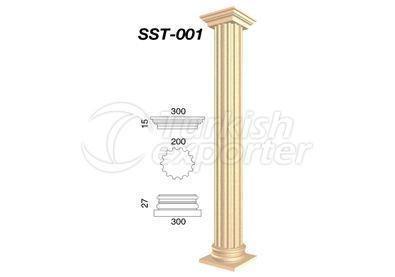 اعمدة جصية  SST-001