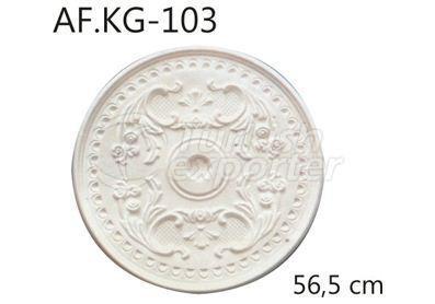 ديكورات جصية سقفية  AF.KG-103