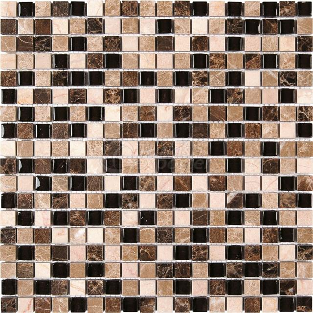 1,5x1,5 Emprerador Dark Light Mosaic