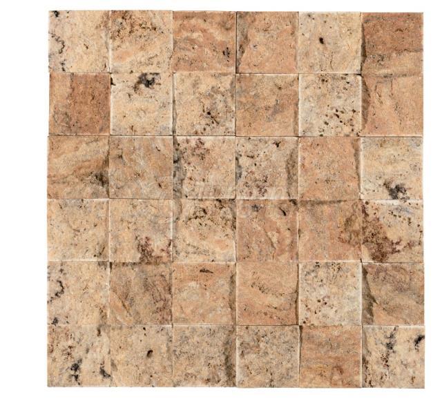 Splitface Beysehir Scabos Mosaic 4,8x4,8 cm