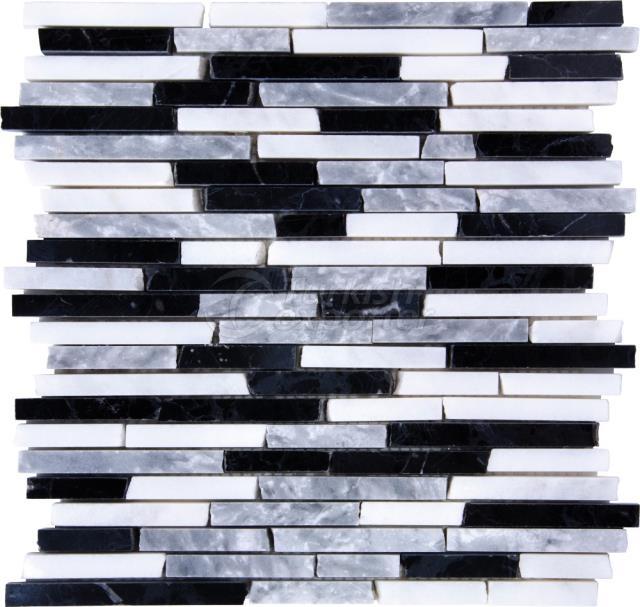1xFL Toros Black Mugla White Silver Strip