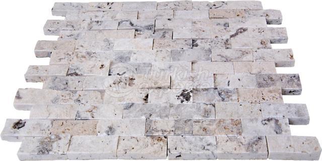 Split Face Scabos Mosaic 2,3x4,8 cm