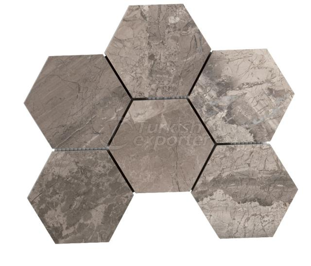 Honeycomb Large Phantasie Gray 10 cm