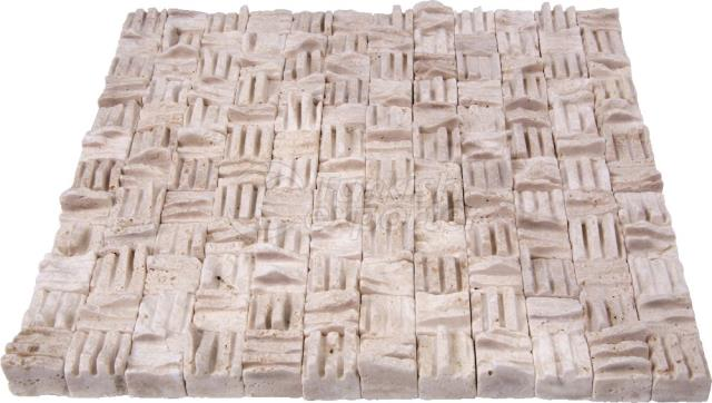 Hatch Mosaic Light Travertine 2,3x2,3