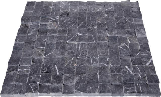Split Face Toros Black 2,3x2,3 cm