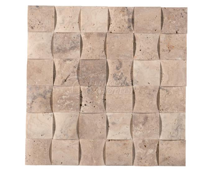 4,8x4,8 Scabos Braid Mosaic