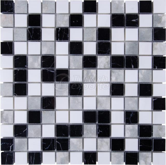 2,3x2,3 Toros Black Silver Shadow Mugla