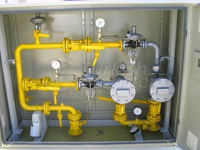 Natural Gas Pressure Reducing and Metering Stations