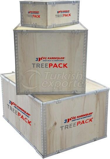 Treepack Wooden Crate