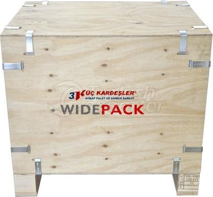 Widepack Wooden Crate