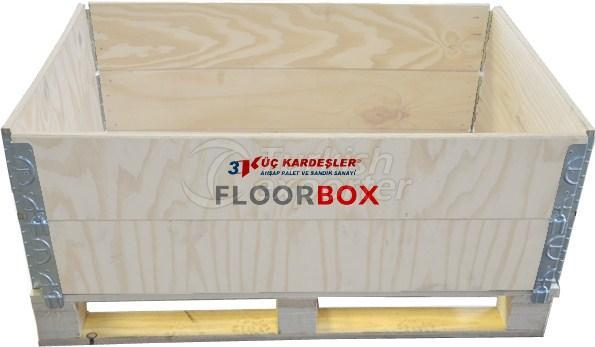 Floorbox Wooden Crate
