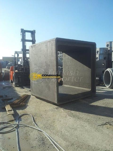 Concrate Manhole Machine