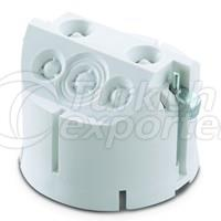 Case with Claw For Under The Plaster - White