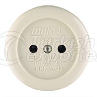 Sockets   -Double Surface-Mounted Embedded Beige