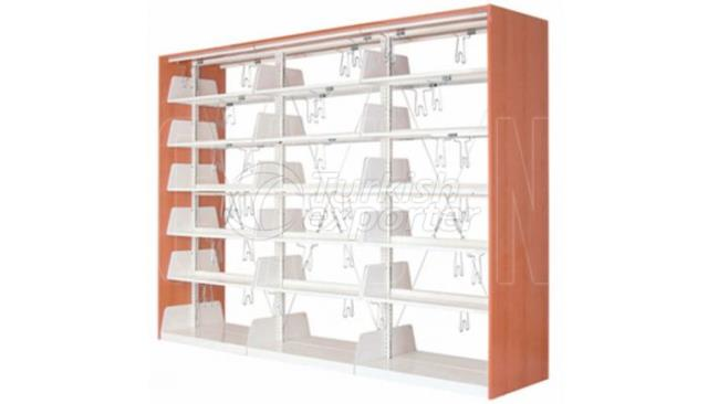 Bookcase Triple Double Sized